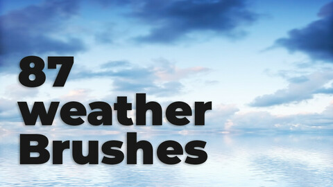 Weather Brushes for Photoshop