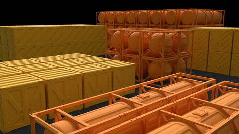 SciFi_Container_Pack