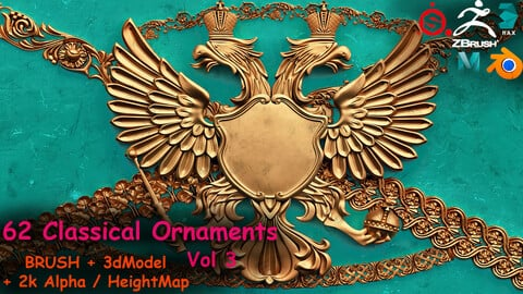 Fred's 62 Ornament IMM+3dModels Volume 3
