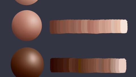 4Skin Palettes for Procreate