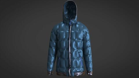 Blue Jackets Puffer
