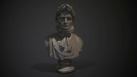 Napoleon - Lady lever art Gallery printable and PBR