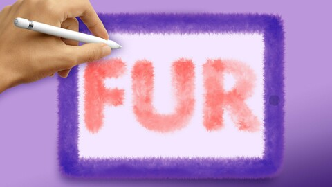 Fur brushes for Procreate