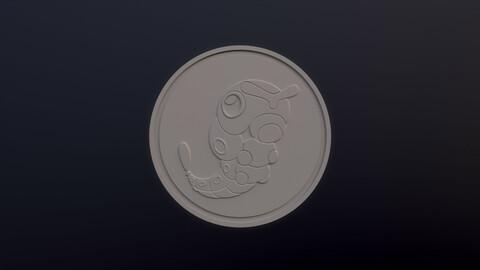 Caterpie 3D printable model - Pokémon collectibles