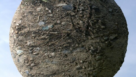 Gravel Ground 7 PBR Material