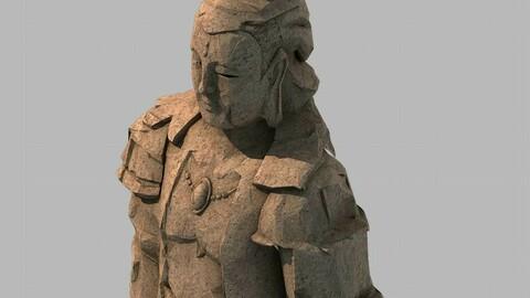 Stone Statue Group - Buddha Image 01