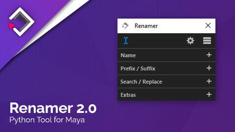 Renamer for Maya