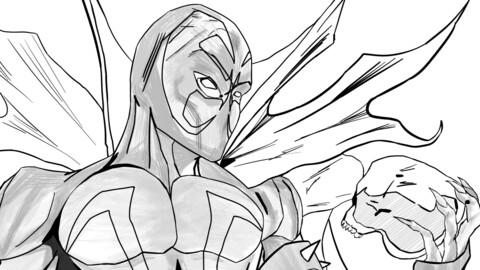Spawn pencilwork