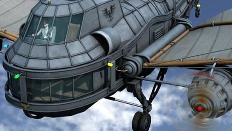 Steam Aircraft Dragon