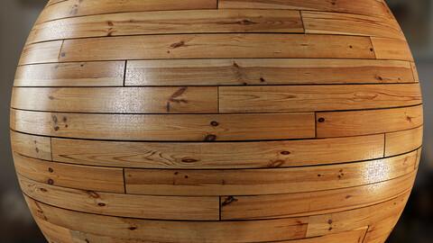 PBR - PARQUET FLOOR WOOD PINE - 4K MATERIAL