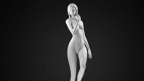 Female Body Posed