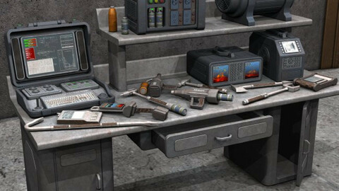 Sci Fi Tools and Equipment