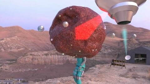 Alien thing /Sci-Fi animation
