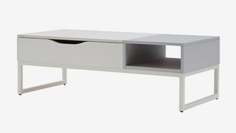 Delta lift-up sofa table 2colors