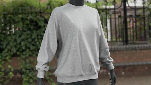 Realistic 3D model of Women's Sweater 2