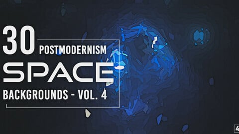 30 Postmodernism Space Backgrounds - Vol. 4