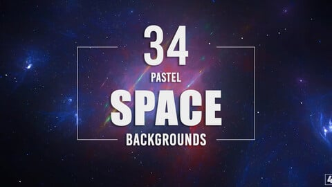 34 Pastel Space Backgrounds