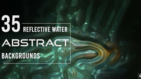 35 Abstract Reflective Water Backgrounds