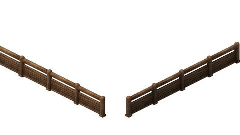 Horse racing area - wooden bar 02