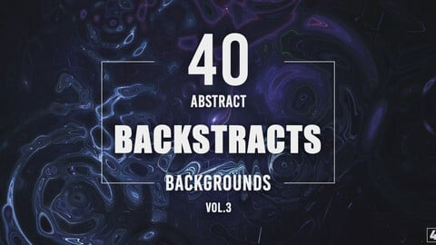 40 Abstract Backstracts - Vol. 3