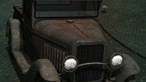 Old Jalopy for Pickup Truck 1930