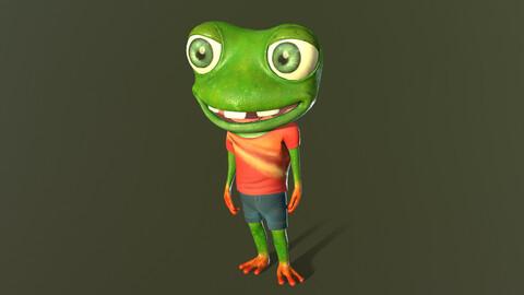 Mr.Cracker (Frog)