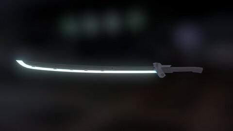 Cyber Ninja Sword