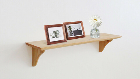 Wood Mini Design Shelf Set
