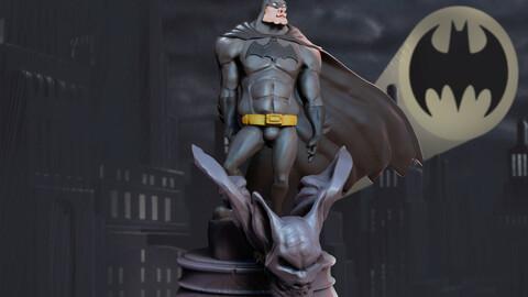 Batman Funny 3D Print Figurine