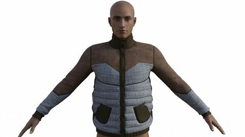 Men's Jacket Daz Studio Clo3d