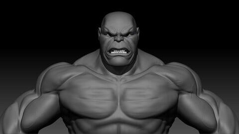 Hulk basemesh