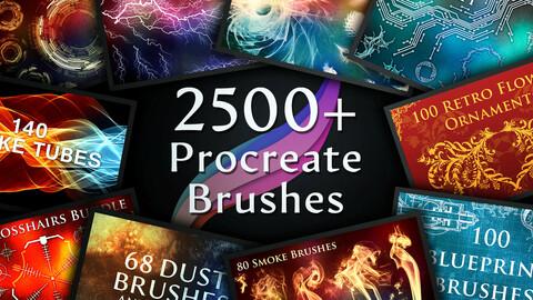 2500+ Procreate Brushes