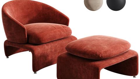 Minotti Halley armchair