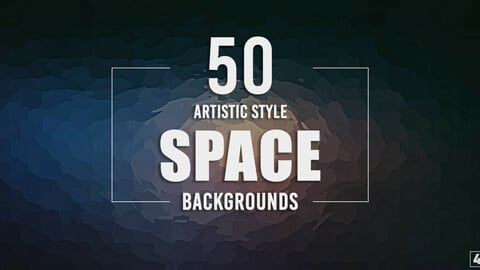 50 Artistic Style Space Backgrounds