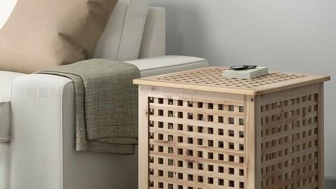 HOL Hall Solid Wood Sofa Auxiliary Table