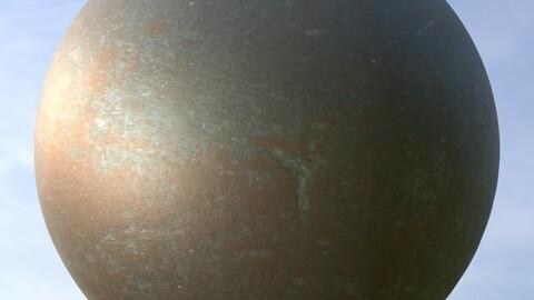 Metal Door 5 PBR Material