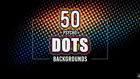 50 Psycho Dots Backgrounds