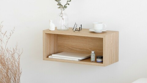 Morris wall storage shelf 2size