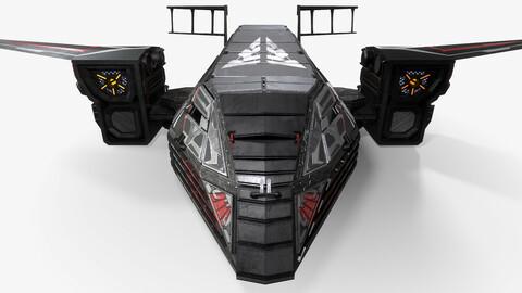Sci-fi Spaceship Rook