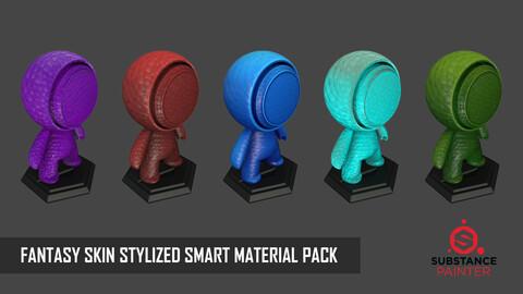"STYLIZED SKIN  ""FANTASY"" SMART MATERIAL PACK - 13 SMART MATERIAL"