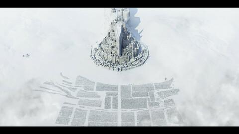 Minas Tirith City model