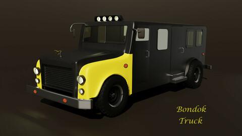 HighPoly Truck 3D model
