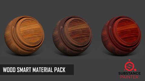 Wood Smart Material Pack