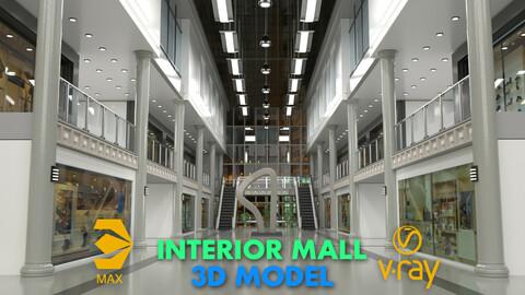 interior mall 3D model