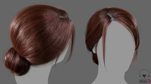 Real-time Hair knot