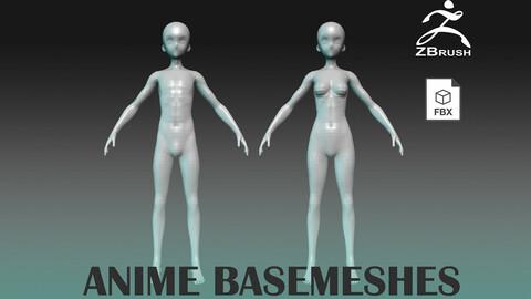 Anime Basemeshes