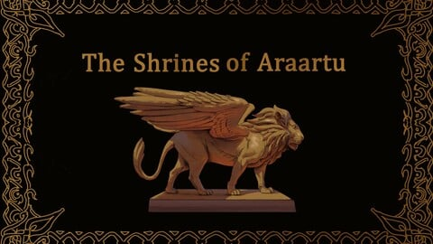 The Shrines of Araartu: An illustrated Fantasy book