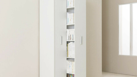Saber sliding two-stage general bookshelf