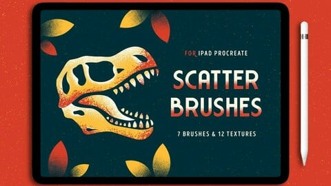 7 Procreate Scatter Brushes