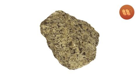 Granite Rock - Real-Time 3D Scanned Model